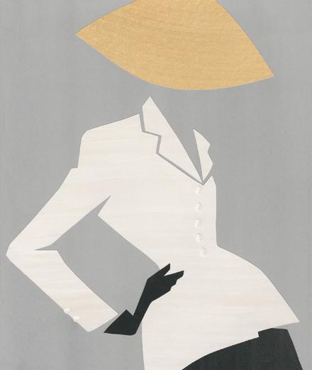 Dior célèbre le New Look au musée de Granville