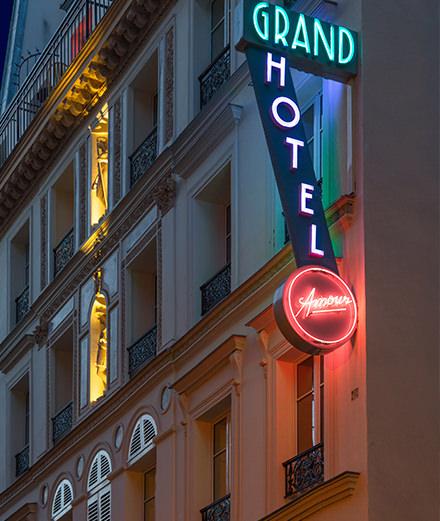 Et si on redécouvrait l'Hôtel Grand Amour ?