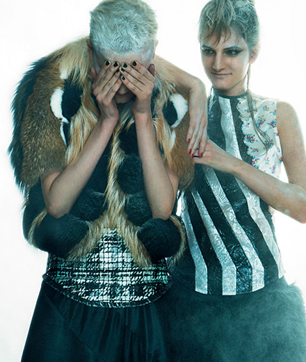 """Exclusive: """"Backstage"""", a fashion story by Greg Kadel"""