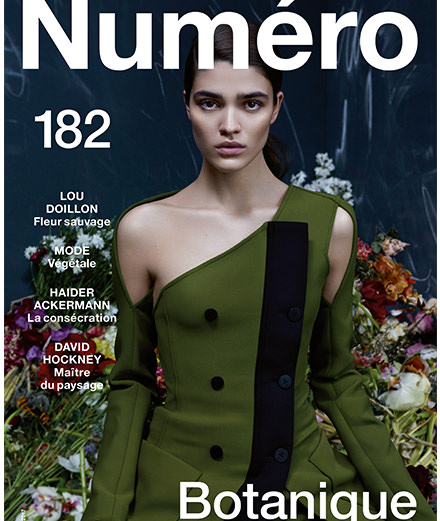 Lou Doillon, Haider Ackermann, Brit Marling... Check out the contents of the Numéro Botanique for April 2017