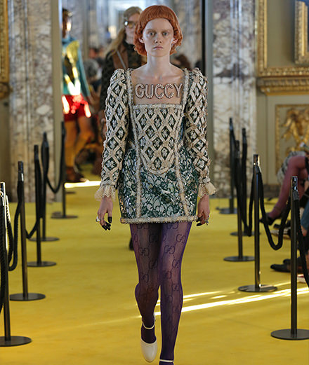 Cruise 2018 : Gucci's creative extravagance at the Palazzo Pitti