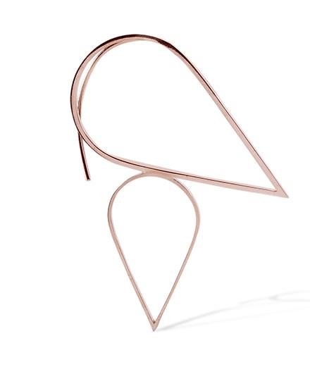 L'objet du jour : le bijou d'oreille Tropic Topic de Kim Mee Hye