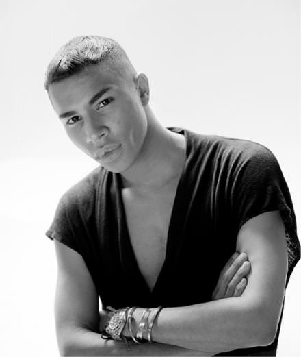 Olivier Rousteing tells us about the Balmain menswear spring-summer 2017 show