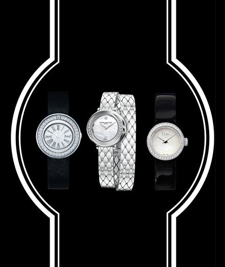 Piaget, Baume & Mercier and Dior Horlogerie's refined watches