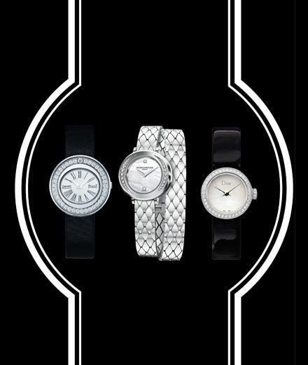 Les montres raffinées de Piaget, Baume & Mercier et Dior Horlogerie