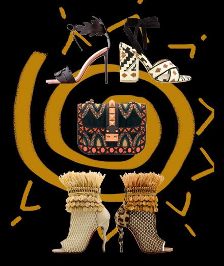 Les accessoires d'inspiration tribale