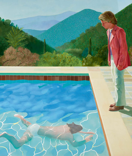 Le point de vue d'Eric Troncy : David Hockney au Centre Pompidou