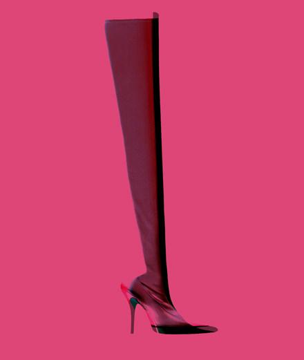 L'accessoire fétiche de la semaine : la cuissarde signée Balenciaga