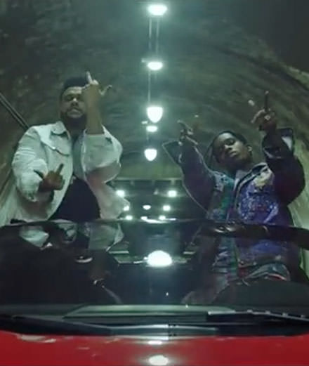 "The Weeknd invite Drake, A$ap Rocky et Travis Scott dans le clip de ""Reminder"""
