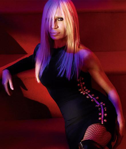 On the playlist of... Donatella Versace