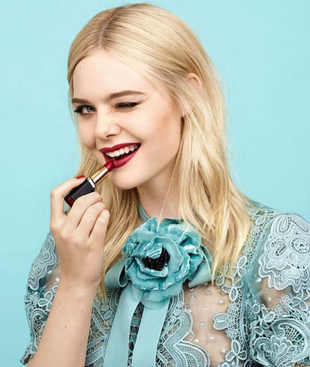 Elle Fanning, new muse at L'Oréal Paris