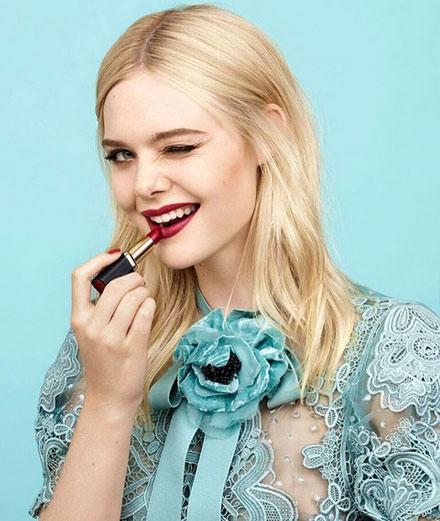 Elle Fanning nouvelle égérie L'Oréal Paris