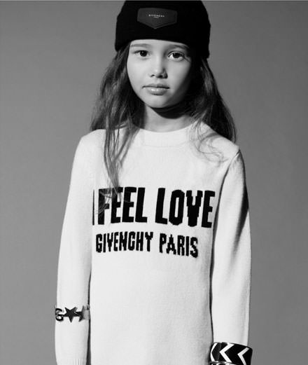 Givenchy habille les enfants avec sa collection kids