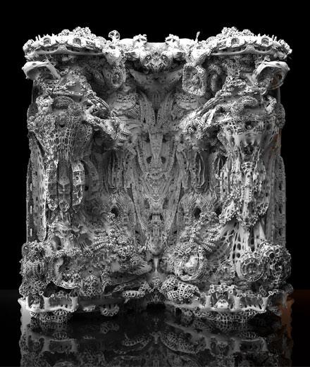 L'objet du jour : la grotte en impression 3D