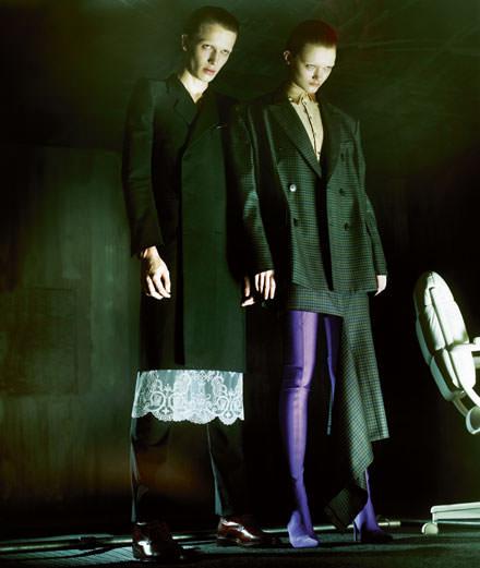 """Exclusive: """"Jeux de miroir"""" a fashion story by Jeff Bark"""