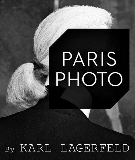 Karl Lagerfeld invité d'honneur de Paris Photo 2017