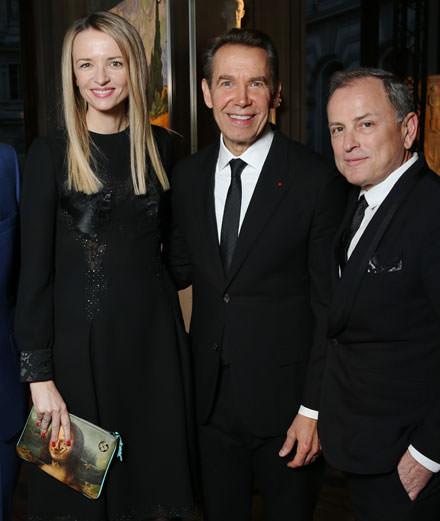 Quelles étaient les personnalités présentes au dîner Louis Vuitton x Jeff Koons ?
