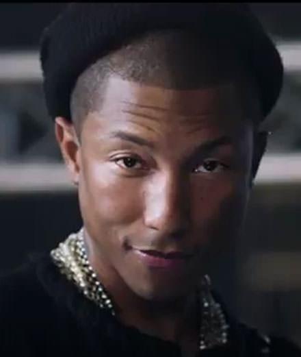 Vidéo : Pharrell Williams, enfant terrible pour Chanel