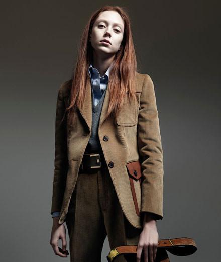Who are the models in Prada's 'Non-conformist' campaign?