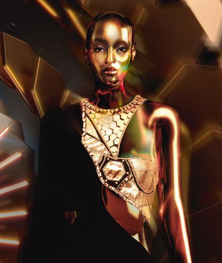 "Exclusive : the fashion portfolio ""Conte fantastique"" by Golgotha"