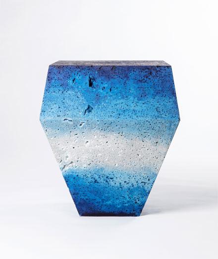 """L'objet du jour : la pièce de marbre """"alchimique"""" de Sophie Dries"""