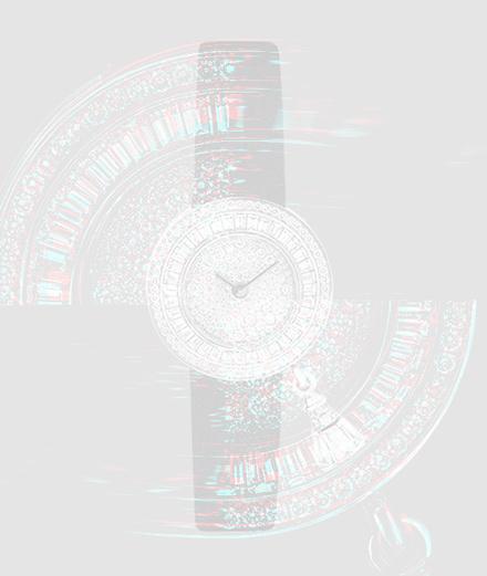 """La montre """"Sweet Charms Pavée"""" signée Van Cleef & Arpels"""