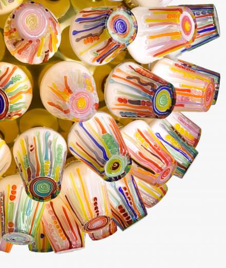 The Campana brothers' lollipop lights