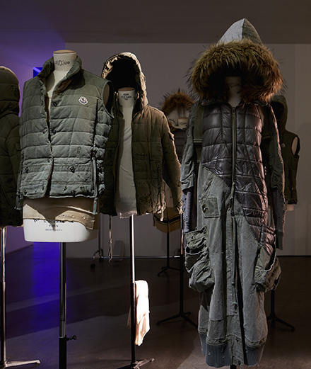 Moncler unveils its collaboration with artiste Greg Lauren