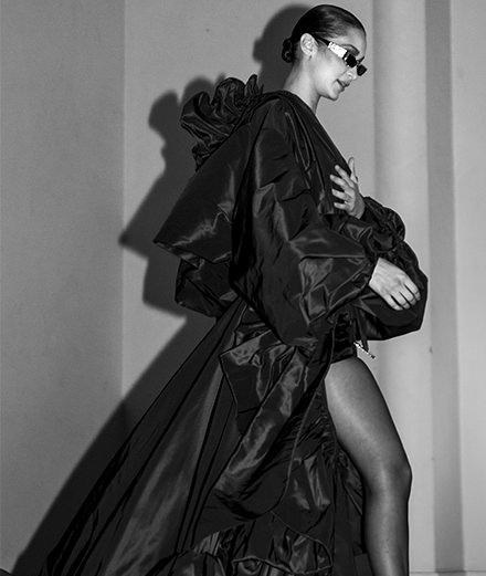 Backstage : le défilé Alexandre Vauthier haute couture printemps-été 2018 vu par Mehdi Mendas
