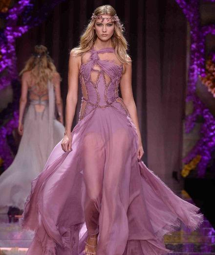 Le défilé couture Atelier Versace automne-hiver 2015/2016
