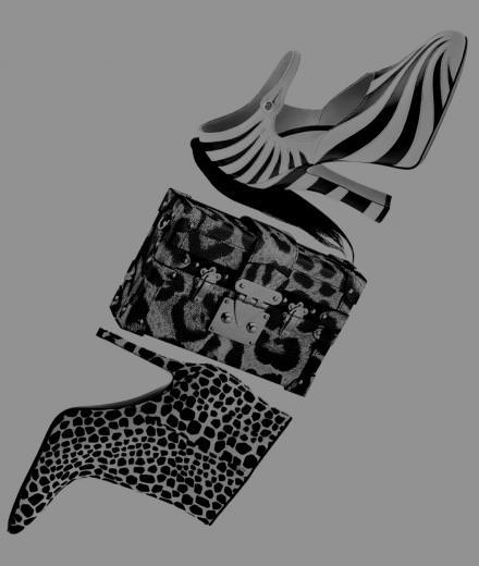 Les accessoires imprimés de Louis Vuitton, Gucci et Stella Luna