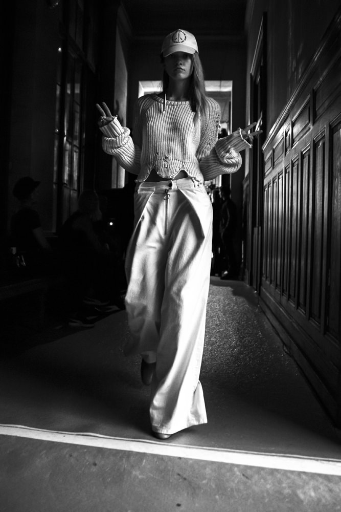 Backstage : Off-White Spring-Summer 2017 seen by Mehdi Mendas