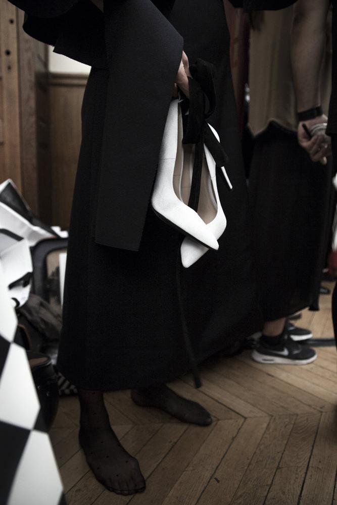 Backstage : le défilé Off-White printemps-été 2017 vu par Mehdi Mendas