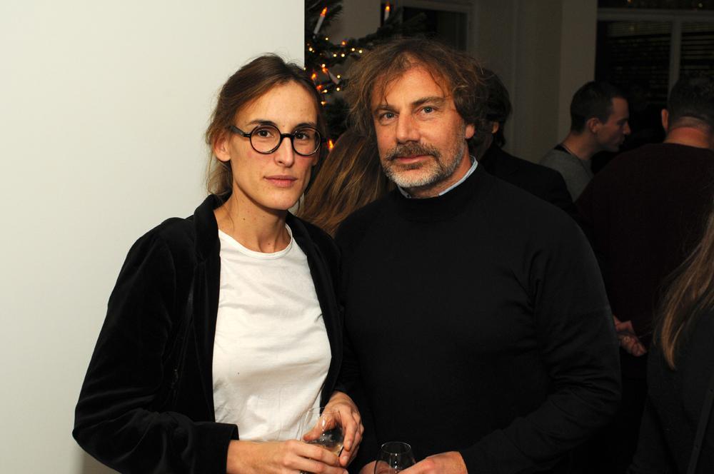 Laure Brossard and Mathias Augustyniak