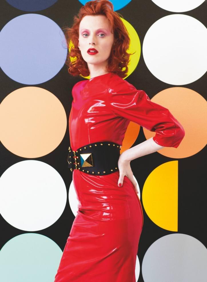 Karen Elson photographed by Victor Demarchelier for Numéro Art June 2014