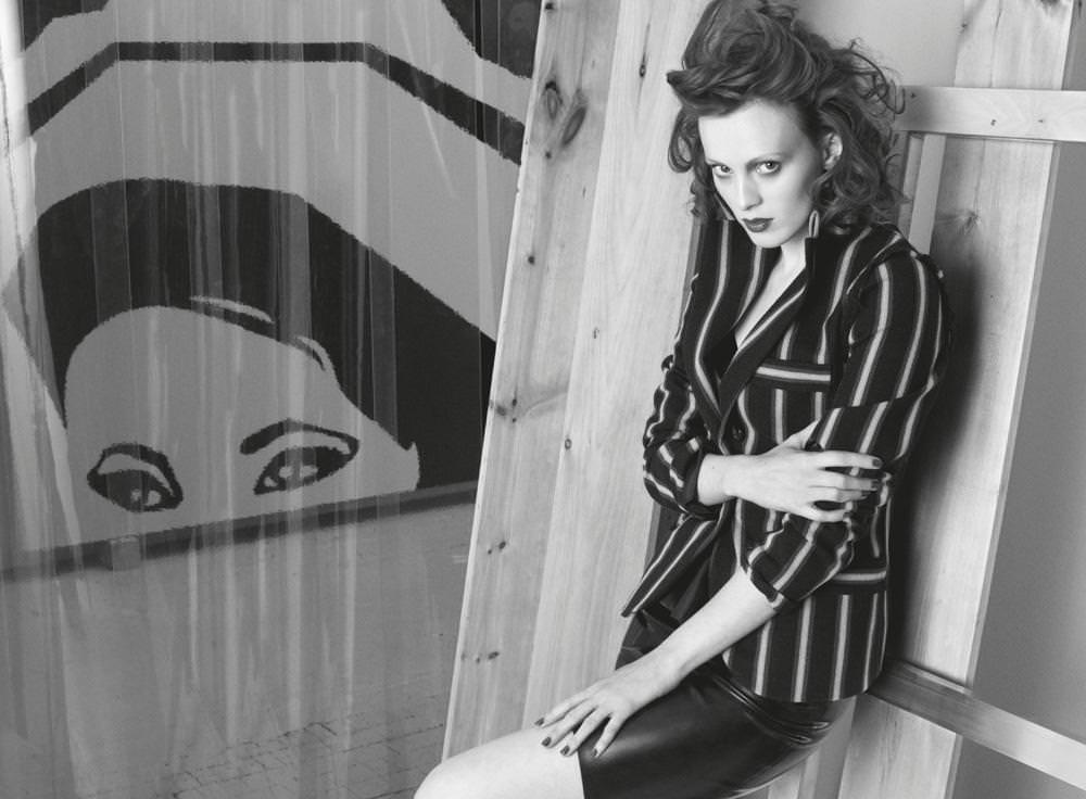 Karen Elson photographby Victor Demarchelier for Numéro Art June 2014