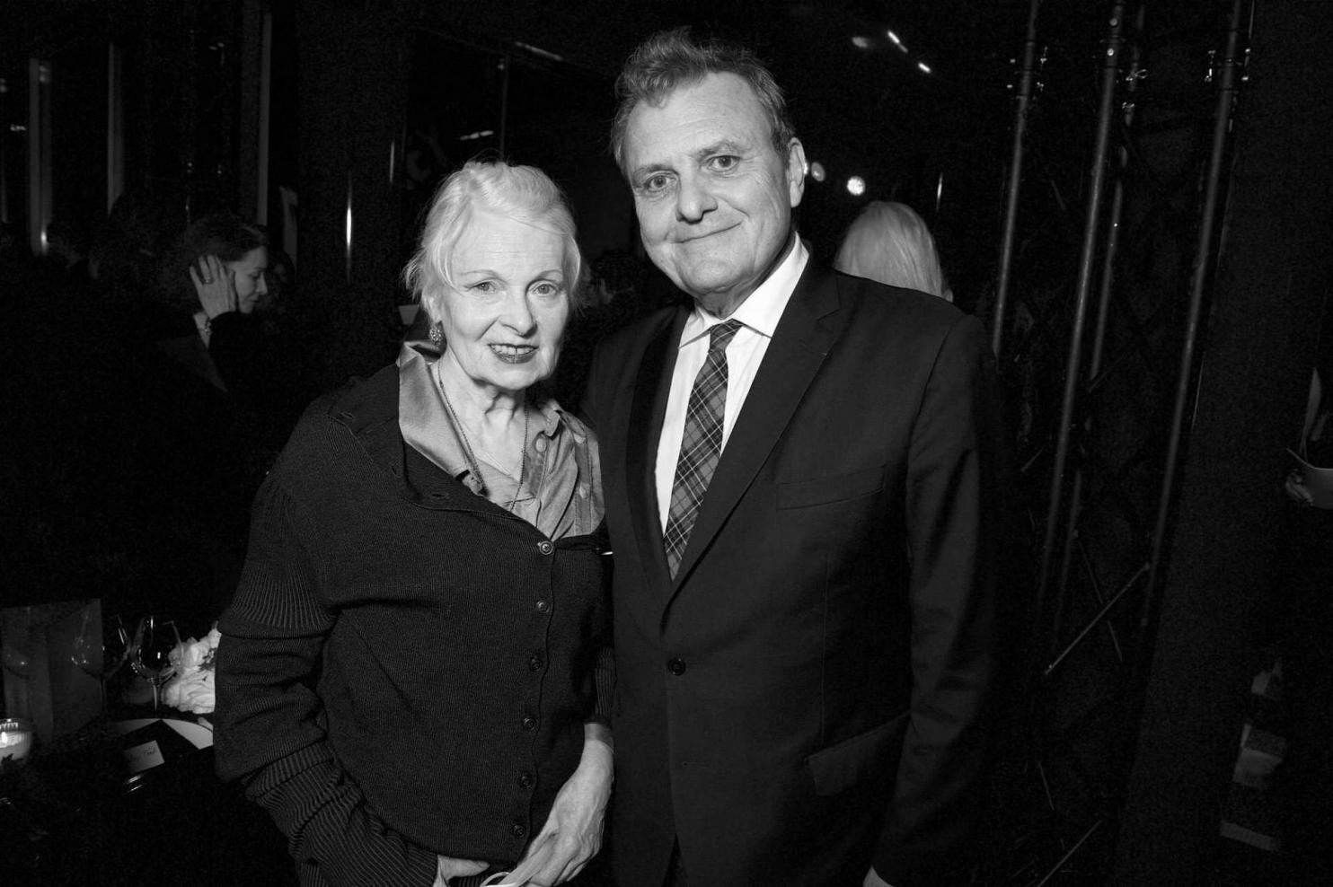 Vivienne Westwood et Jean-Charles de Castelbajac