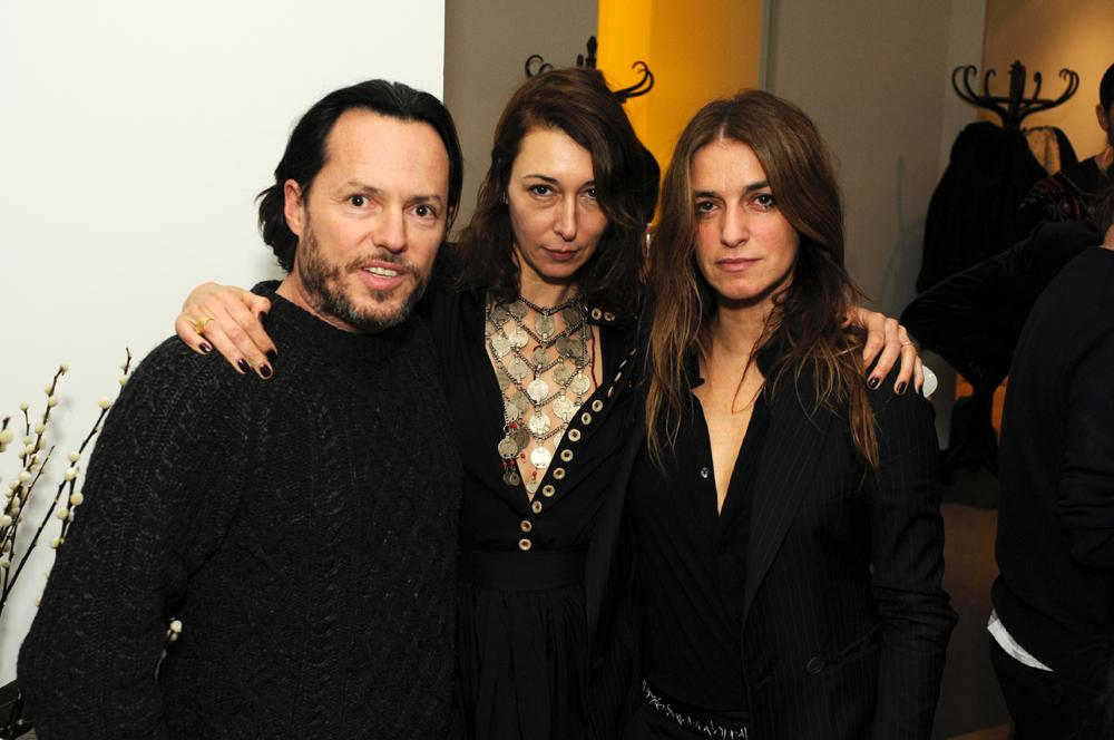Alexandre De Betak, Camille Bidault-Waddington et Joana Preiss. Photos : Paul Mouginot