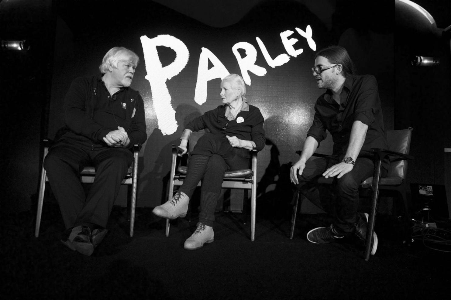 Paul Watson, Vivienne Westwood and Cyrill Gutsch