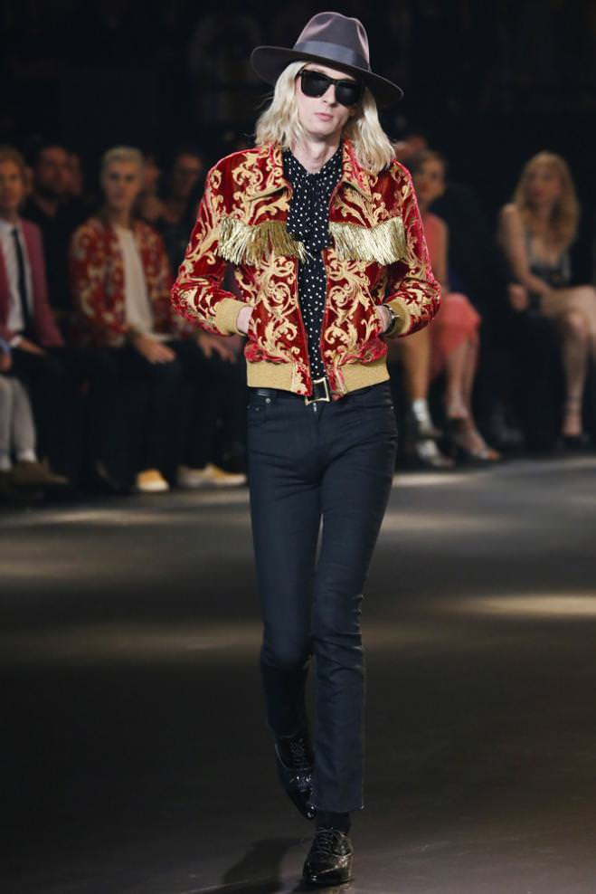 Saint Laurent at the Palladium Homme automne-hiver 2016-2017