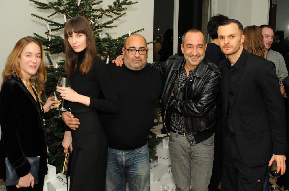 Aurélie Biderman, Lana Petrusevych, Ezra Petronio, Saif Mahdi et Kris Van Assche