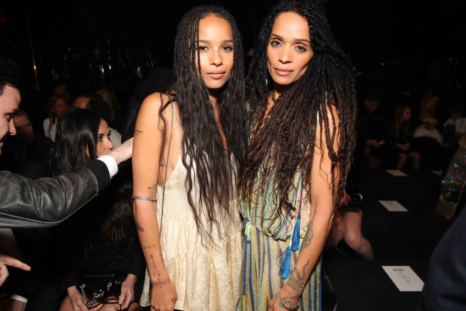 Zoé Kravitz and Lisa  Bennet