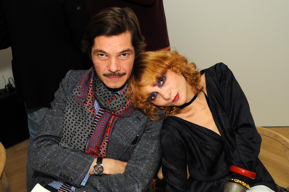 Elie Top et Catherine Baba
