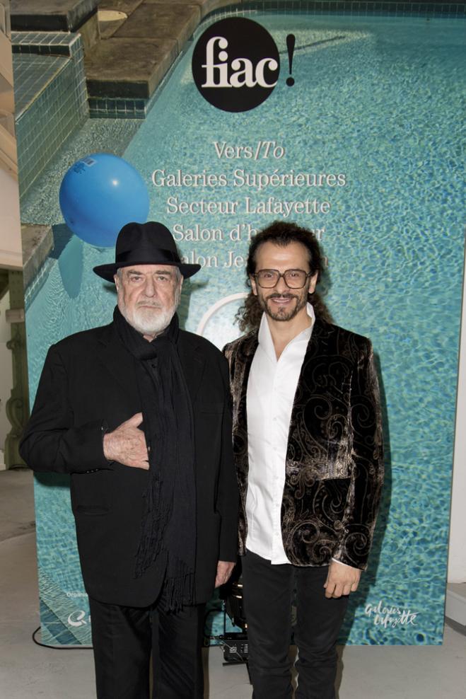 Michelangelo Pistoletto et Lorenzo Fiaschi