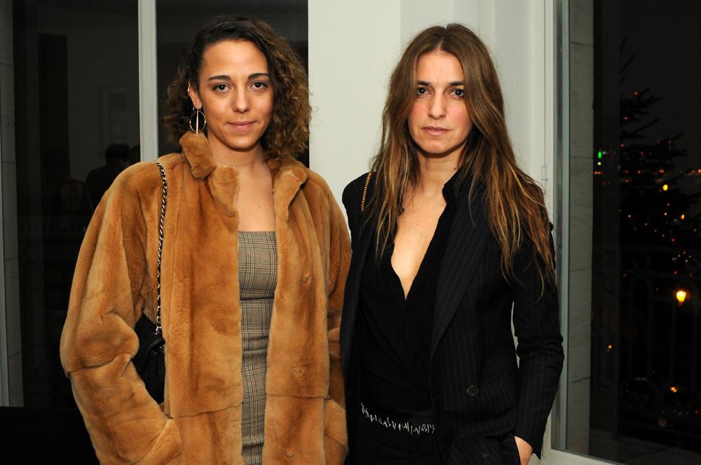 Mahaut Mondino and Joana Preiss