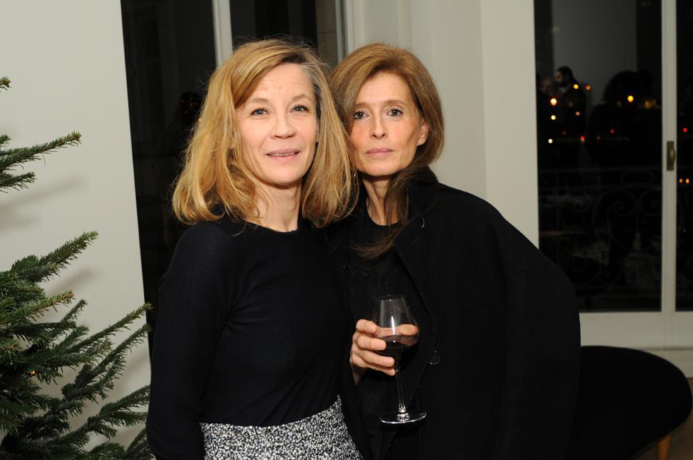 Valeriane Van Der Noordaa and Laurence Hovart