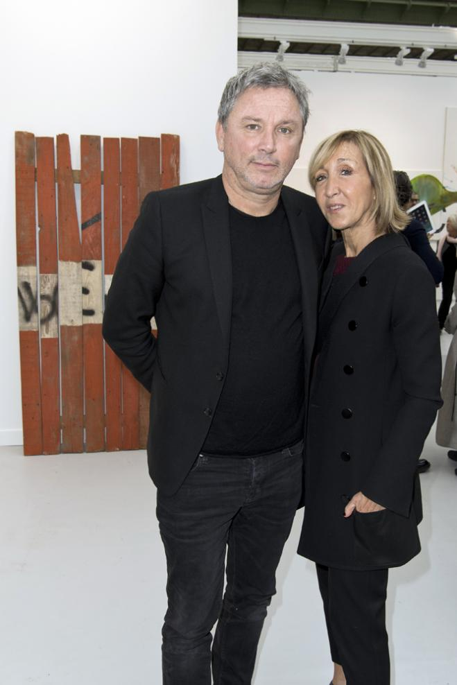 Thierry Gillier et Patricia Marshall