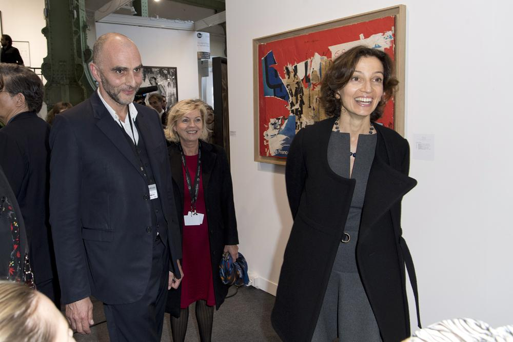 Georges-Philippe Vallois et Audrey Azoulay