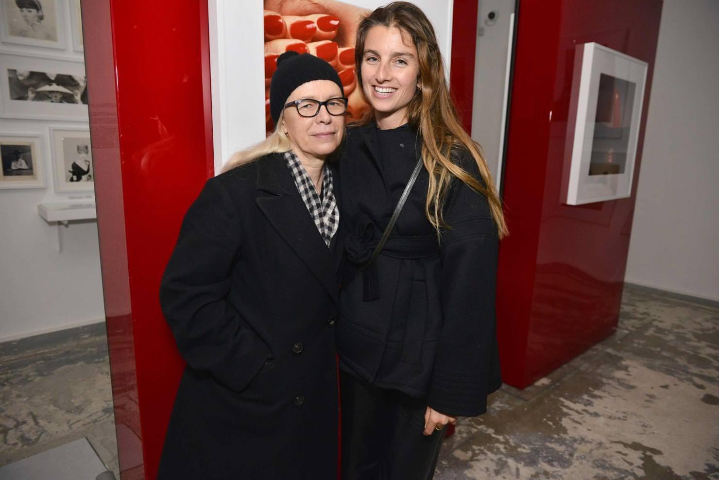 Dominique Issermann et Sonia Sieff