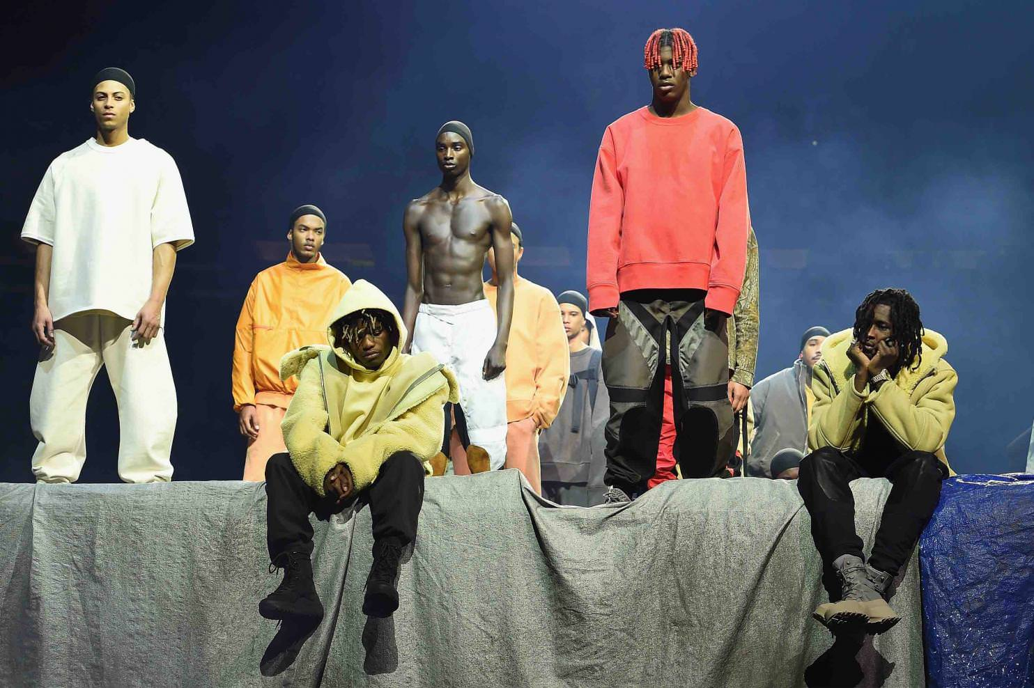 Kanye Westu0027s Yeezy Season 3 At Madison Square Garden In New York